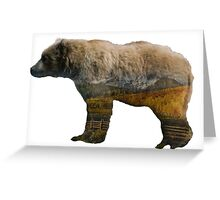 Habitat in Bear Greeting Card