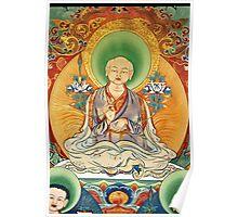 sakya patriach. tibetan painting Poster