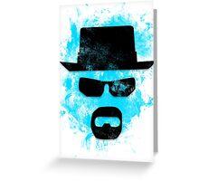 Pop Grunge: Walter White Greeting Card