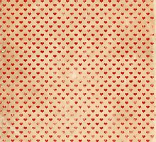Vintage Alice in Wonderland Heart Pattern by On a whimsical adventure
