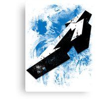 Pop Grunge: Metallica Canvas Print