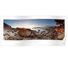 Bunker Bay Pano Morning Sunrise Poster