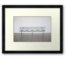 Hostile Seats Framed Print