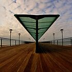Boscombe Pier - Vanishing Point  by delros