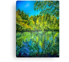 Reflections on Canvas Canvas Print