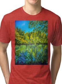Reflections on Canvas Tri-blend T-Shirt