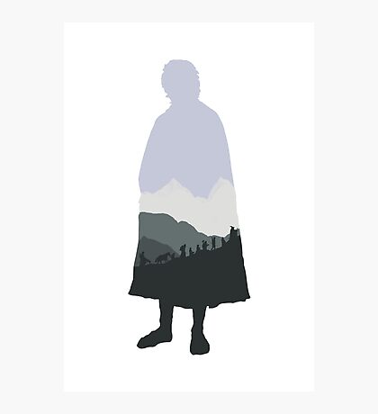 Baggins! Photographic Print