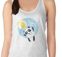 Summer panda. Women's Tank Top