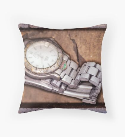 Forgotten Time... Throw Pillow