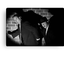 Film Noir 2 Canvas Print