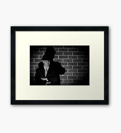Film Noir 4 Framed Print
