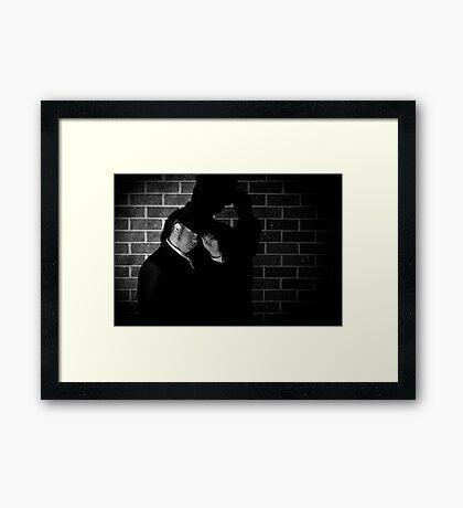 Film Noir 5 Framed Print
