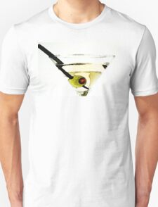Martini With Green Olive T-Shirt