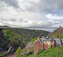 Clifton suspension bridge by paultclarke