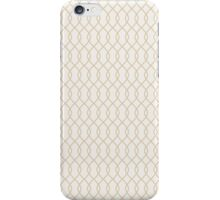 Gold Fence iPhone Case/Skin