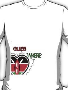 kenya africa t shirt T-Shirt