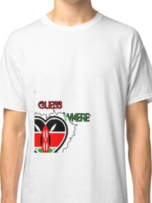 kenya africa t shirt Classic T-Shirt