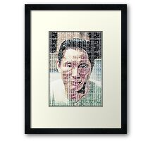 Takeshi Kitano Framed Print