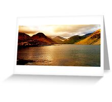 Lake district national park Greeting Card