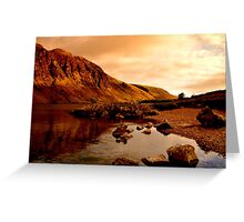 Landscapes of cumbria England  Greeting Card