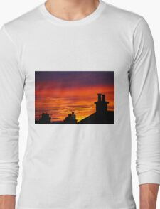 Untouched Rooftops Long Sleeve T-Shirt