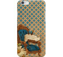 Vintage Alice in Wonderland Style Pattern iPhone Case/Skin