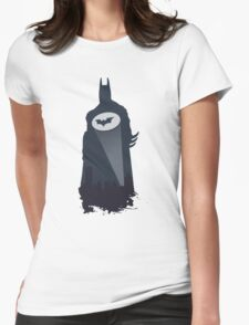 A Bat in the Night! Womens Fitted T-Shirt