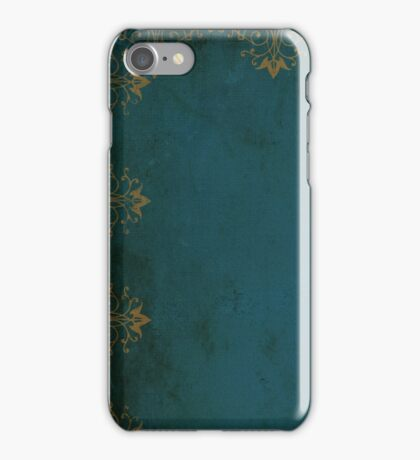 Vintage Alice in Wonderland Style Pattern iPhone Case/Skin