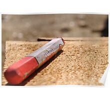 Lumber Crayon Poster