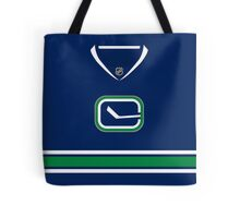 Vancouver Canucks Alternate Jersey Tote Bag