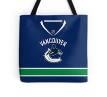 Vancouver Canucks Home Jersey Tote Bag