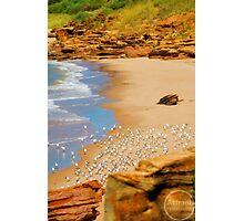 Beach @ Broome Port Photographic Print