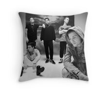 The NBHD Group Shot Throw Pillow
