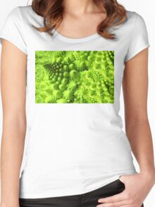 Romanesco broccoli  Women's Fitted Scoop T-Shirt