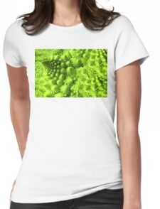 Romanesco broccoli  Womens Fitted T-Shirt