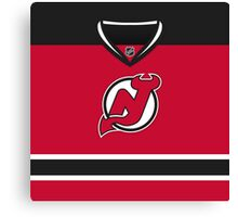 New Jersey Devils Home Jersey Canvas Print