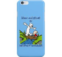 The Road to Adventure! iPhone Case/Skin