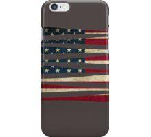 America baseball flag iPhone Case/Skin