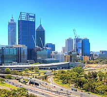 The City Of Perth WA - HDR by Colin  Williams Photography