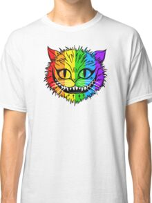 Rainbow Cheshire Cat Classic T-Shirt