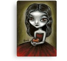 Vampire girl by Tanya Bond Canvas Print