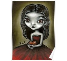 Vampire girl by Tanya Bond Poster