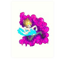 BIPPER YOU ARE MAKING AN AWFUL MESS Art Print