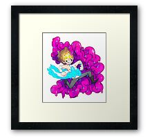 BIPPER YOU ARE MAKING AN AWFUL MESS Framed Print