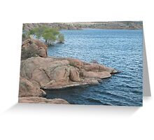 Waters Edge- Willow Lake Greeting Card