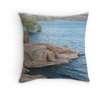 Waters Edge- Willow Lake Throw Pillow