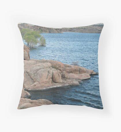 Waters Edge- Willow Lake Throw Pillow