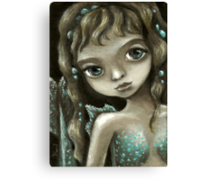 Little mermaid - fantasy painting by Tanya Bond Canvas Print