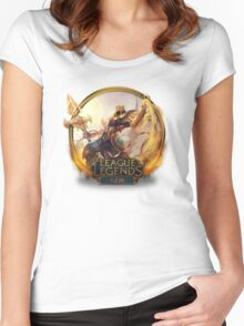 Azir Women's Fitted Scoop T-Shirt