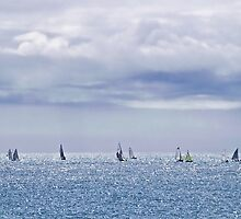 Summer Sailing by Susie Peek